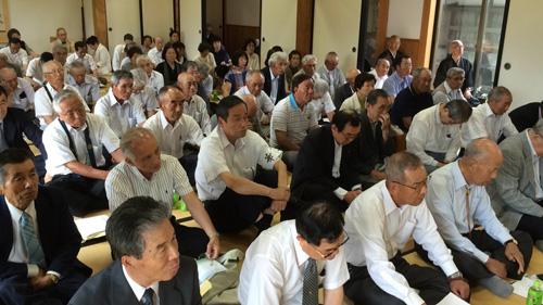法話の聴衆