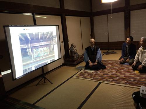 寺びらき-宝光寺を写す